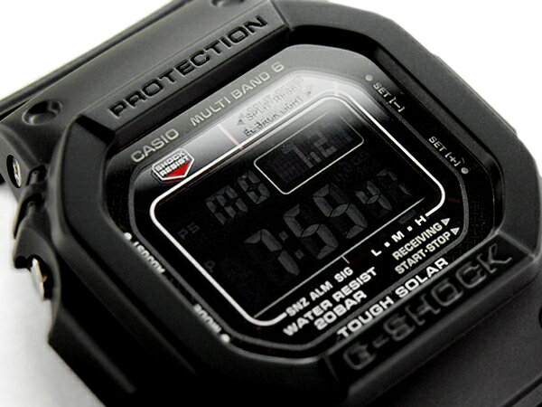 G-SHOCK Gショック ジーショック カシオ 電波ソーラー 腕時計 GW-M5610-1BJF オールブラック 国内正規モデル【ポイント2倍!!+送料無料!】