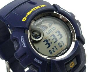 + Casio G shock overseas model digital watch Navy urethane belt g-2900F-2