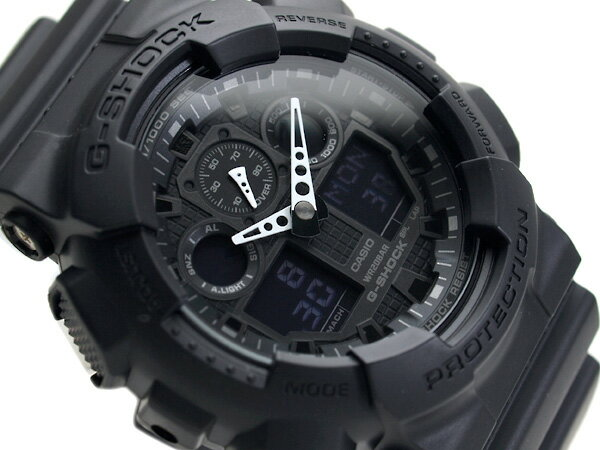 G-SHOCK Gショック ジーショック 逆輸入海外モデル カシオ デジタル 腕時計 GA-100-1A1DR GA-100-1A1【ポイント2倍!!+送料無料!】