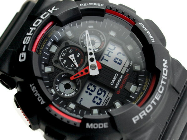 G-SHOCK Gショック ジーショック 逆輸入海外モデル カシオ デジタル 腕時計 GA-100-1A4DR GA-100-1A4