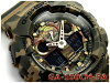 G 休克 6600 g 冲击卡西欧卡西欧有限模型迷彩系列迷彩系列重新导入国外模型模拟数字手表金绿色卡其色林地 Camoflage GA-100 厘米-5AER GA-100 厘米-5A