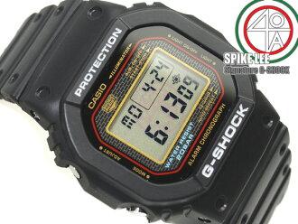 卡西歐G打擊海外專賣DW-5000初期型號基礎黑色尿烷皮帶數碼手表DW-5000SL-1 upup7