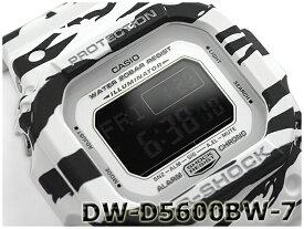 G-SHOCK Gショック ジーショック カシオ CASIO 限定モデル White and Black Series ホワイト&ブラックシリーズ デジタル 腕時計 ブラック ホワイト DW-D5600BW-7CR DW-D5600BW-7【あす楽】