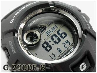 """G-2900F-8VER g-震撼 G 衝擊""""gshock 凱西歐凱西歐數位手錶灰色黑色 g-2900F-8"""