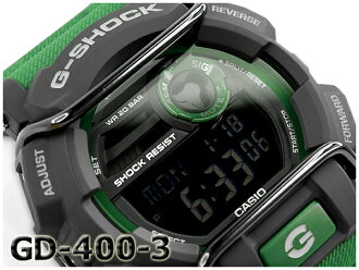 GD-400-3DR G-SHOCK G 충격 지 쇼크 gshock 카시오 CASIO 손목시계 GD-400-3