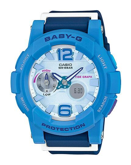 カシオ ベビーG CASIO BABY-G G-LIDE Gライド アナデジ 腕時計 ブルー BGA-180-2B3JF【国内正規モデル】