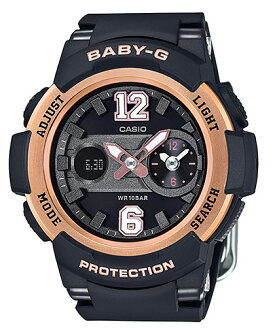 카시오 CASIO BABY-G 베이비 G-디지털 여성 시계 블랙 골드 BGA-210-1BJF 국내 정품