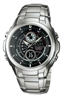 凱西歐大廈凱西歐大廈類比手錶銀黑色普及教育-116 D-1 A1JF 定期國內