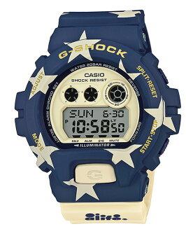 카시오 G쇼크 CASIO G-SHOCK 6900 ALIFE 에이라이후코라보 한정 모델 디지털 손목시계 GD-X6900AL-2 JR