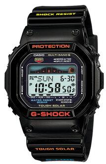 카시오 CASIO G-SHOCK G-LIDE G 충격 질 충격 G 타고 전파 솔 러 손목시계 블랙 GWX-5600-1JF 국내 정품
