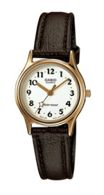 101ff04914 カシオ CASIO STANDARD スタンダード レディース アナログ 腕時計 合皮バンド ブラウン ホワイト 星 LQ-398GL