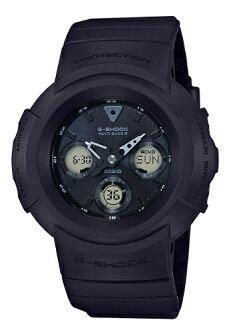 G-SHOCK G 충격 지 쇼크 카시오 CASIO 전파 솔 러 전파 시계 아날로그-디지털 시계 올 블랙 AWG-M510SBB-1AJF