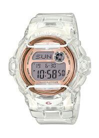 カシオ CASIO BABY-G カシオ ベビーG BG-169シリーズ スケルトン ピンクゴールド 20気圧防水 デジタル レディース 腕時計 クリア BG-169G-7BJF BG-169G-7B【国内正規モデル】