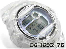 ベビーG Baby-G ベビージー 海外モデル カシオ CASIO デジタル 腕時計 スケルトン クリア パープル BG-169R-7E