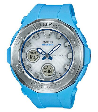 BABY-G ベビーG ベビージー ビーチ・グランピング・シリーズ カシオ CASIO 電波ソーラー アナデジ 腕時計 ブルー BGA-2250-2AJF【国内正規モデル】