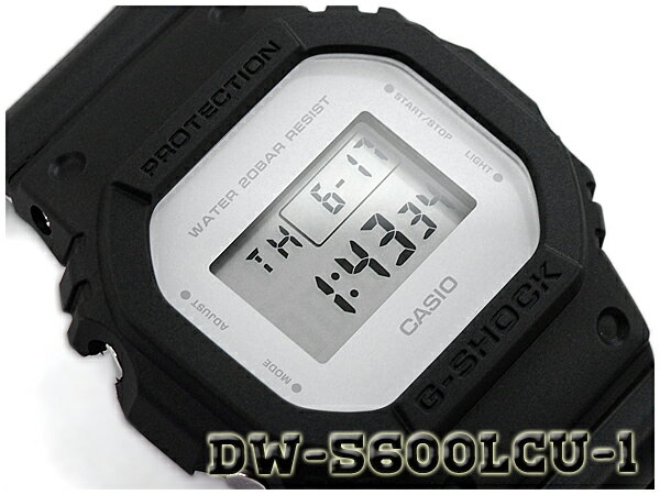 G-SHOCK Gショック ジーショック ミリタリーカラー 限定モデル 逆輸入海外モデル CASIO カシオ デジタル 腕時計 マットブラック グレー DW-5600LCU-1ER DW-5600LCU-1