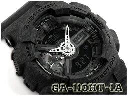 撫摩G-SHOCK G打擊返銷進口海外moderuhezadokara限定型號CASIO尺或二手錶黑色GA-110HT-1AER GA-110HT-1A