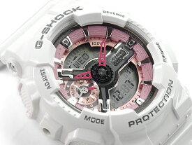 [予約商品 11/22日入荷予定]G-SHOCK Gショック ジーショック カシオ CASIO 限定モデル S Series Sシリーズ PINK COLLECTION アナデジ 腕時計 ピンク ホワイト GMA-S110MP-7ACR GMA-S110MP-7A