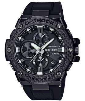 G-SHOCK G打擊G打擊G-STEEL G鋼鐵Bluetooth手機鏈接功能卡西歐CASIO太陽能模擬人手錶黑色GST-B100X-1AJF