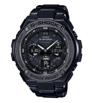 카시오 CASIO G-SHOCK 카시오 G 쇼크 G-STEEL G 스틸 GST-W100G 기반 멀티 밴드 6 솔 러 전파-디지털 시계 블랙 GST-W110BD-1BJF GST-W110BD-1B