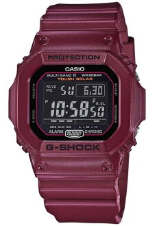 카시오 CASIO G-SHOCK 카시오 G 쇼크 하프 매트 가공 전파 솔 러 GW-M5610 기반 디지털 남자 시계 블랙/보르도 GW-M5610EW-4JF GW-M5610EW-4