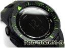 【送料無料+ポイント2倍!】プロトレック PROTREK カシオ CASIO 逆輸入海外モデル ソーラー デジタル 腕時計 カモフラ グリーン ブラック PRG-300CM-3DR PRG-300CM