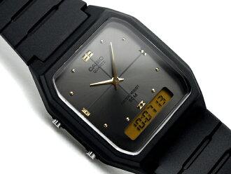 Casio an analog-digital watch unisex gray dial-AW-48HE-8AVDF