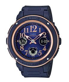 BABY-G ベビーG ベビージー カシオ CASIO アナデジ 腕時計 ネイビー BGA-150PG-2B2 逆輸入海外モデル