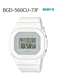 BABY-G베이비 G베비지페아 한정 모델 카시오 CASIO 디지털 손목시계 화이트 BGD-560 CU-7 JF