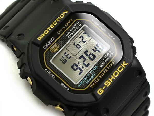 [外箱少し破れ有り]G-SHOCK Gショック ジーショック 35周年限定モデル 日本製 逆輸入海外モデル カシオ CASIO デジタル 腕時計 ブラック ゴールド DW-5035D-1BDR DW-5035D-1B【あす楽】