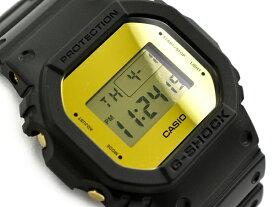G-SHOCK Gショック ジーショック 限定モデル Metallic Mirror Face メタリック・ミラーフェイス 逆輸入海外モデル カシオ CASIO デジタル 腕時計 ブラック ゴールド DW-5600BBMB-1DR DW-5600BBMB-1
