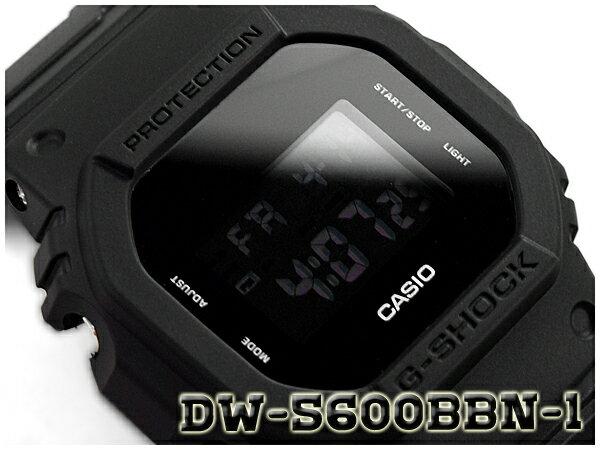 G-SHOCK Gショック ジーショック 逆輸入海外モデル 限定モデル カシオ デジタル 腕時計 ブラック クロスバンド DW-5600BBN-1ER DW-5600BBN-1【あす楽】