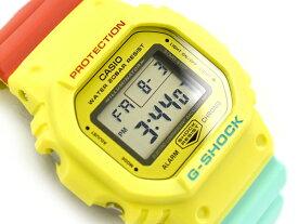 G-SHOCK Gショック ジーショック 限定モデル Breezy Rasta Color ブリージー・ラスタカラー 逆輸入海外モデル カシオ CASIO デジタル 腕時計 イエロー DW-5600CMA-9DR DW-5600CMA-9