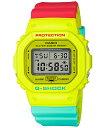 G-SHOCK Gショック ジーショック 限定モデル Breezy Rasta Color カシオ CASIO デジタル 腕時計 ラスタカラー レッド イエロー グリーン DW-5600CMA-9JF