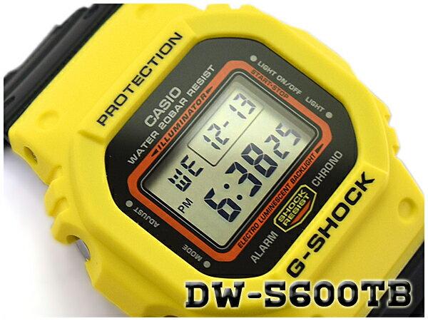 G-SHOCK Gショック ジーショック THROW BACK 1983 限定モデル 逆輸入海外モデル CASIO カシオ デジタル 腕時計 イエロー ブラック DW-5600TB-1DR DW-5600TB-1