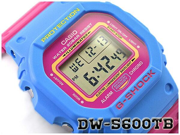 G-SHOCK Gショック ジーショック THROW BACK 1983 限定モデル 逆輸入海外モデル CASIO カシオ デジタル 腕時計 ピンク ブルー DW-5600TB-4BDR DW-5600TB-4B【あす楽】