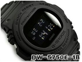 G-SHOCKGショックジーショック逆輸入海外モデル35周年限定復刻スティングモデルカシオCASIOデジタル腕時計オールブラックDW-5750E-1BDRDW-5750E-1B