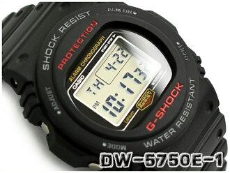 G-SHOCK G打擊G打擊返銷進口海外型號35周年限定復版斯廷型號卡西歐CASIO數碼手錶黑色灰色DW-5750E-1DR DW-5750E-1