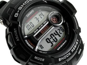 CASIO G-SHOCK 카시오 지 충격 G 쇼크 RM 시리즈 디지털 시계 블랙 유리 섬유 인서트 밴드 GD-200-1DR