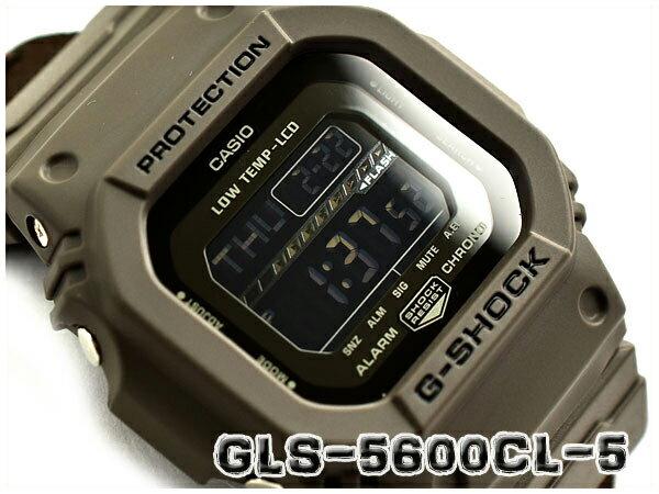 G-SHOCK Gショック ジーショック G-LIDE Gライド 逆輸入海外モデル カシオ CASIO デジタル 腕時計 ブラウン クロスバンド GLS-5600CL-5DR GLS-5600CL-5【あす楽】