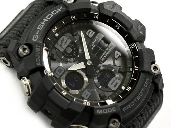 G-SHOCK Gショック ジーショック MUDMASTER 逆輸入海外モデル カシオ CASIO アナデジ ソーラー 腕時計 ブラック GSG-100-1ADR GSG-100-1A【あす楽】