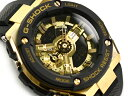 G-SHOCK Gショック ジーショック G-STEEL Gスチール 逆輸入海外モデル カシオ CASIO アナデジ 腕時計 ゴールド ブラック GST-400G-1A9DR GST-400G-1A9【あす楽】