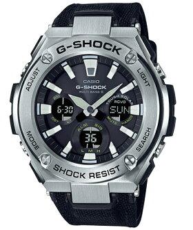 G-SHOCKGショックジーショックG-STEELGスチールカシオCASIOアナデジ腕時計電波ソーラーミリタリーブラックシルバーGST-W130C-1AJF【国内正規モデル】【あす楽】