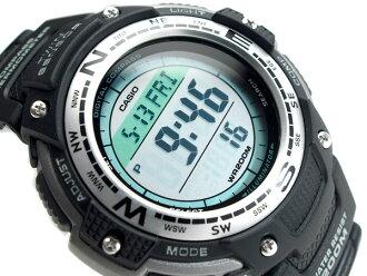 + CASIO 카시오 OUTGEAR 밖으로 기어 해외 모델 디지털 시계 우 레 탄 벨트 SGW-100-1VDF
