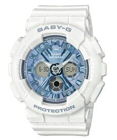 BABY-G ベビーG ベビージー カシオ CASIO アナデジ 腕時計 ホワイト ブルー BA-130-7A2JF【国内正規モデル】
