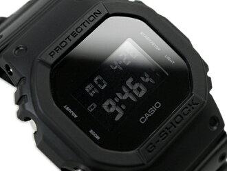 G-SHOCK G쇼크 카시오 한정 Solid Colors 소릿드카라즈데지탈 손목시계 올 블랙 DW-5600 BB-1 DW-5600 BB-1 DR