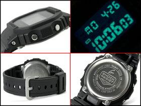 CASIOカシオG-SHOCKGショックジーショックg-shockgショックSolidColorsソリッドカラーズ腕時計オールブラックDW-5600BB-1DR