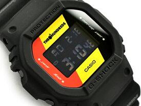 G-SHOCK Gショック ジーショック 限定モデル THE HUNDREDS 逆輸入海外モデル カシオ CASIO デジタル 腕時計 ブラック レッド イエロー DW-5600HDR-1DR DW-5600HDR-1【あす楽】