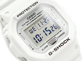 G-SHOCK Gショック ジーショック MARINEWHITE マリンホワイト 逆輸入海外モデル CASIO カシオ デジタル 腕時計 ホワイト DW-5600MW-7ER DW-5600MW-7