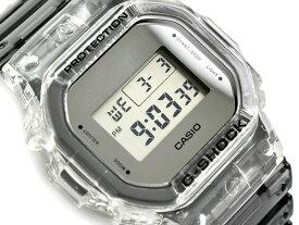 G-SHOCK Gショック ジーショック 限定モデル Clear Skeleton クリアスケルトン 逆輸入海外モデル カシオ CASIO デジタル 腕時計 スケルトン グレー DW-5600SK-1DR DW-5600SK-1【あす楽】